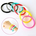 6 mm Low Cost Silicone Wristbands