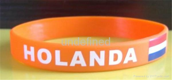 Natiional Flag Silicone Wristbands 4
