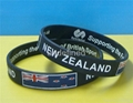 Natiional Flag Silicone Wristbands 7