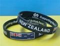 Natiional Flag Silicone Wristbands