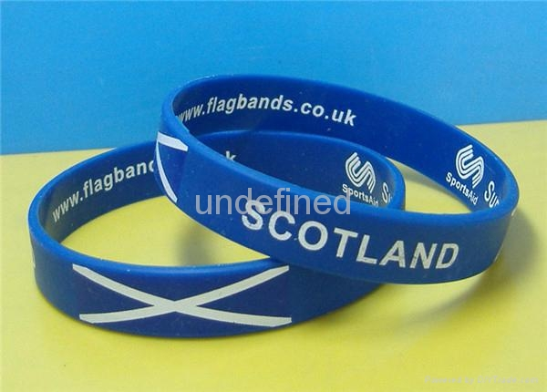 Natiional Flag Silicone Wristbands 11