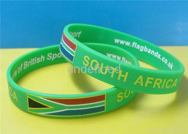 Natiional Flag Silicone Wristbands 10