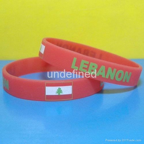 Football Team Silicone Wristbands 2