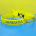 Football Team Silicone Wristbands 3