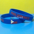 Football Team Silicone Wristbands 6