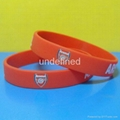 Football Team Silicone Wristbands 10