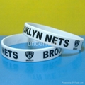 Football Team Silicone Wristbands 12