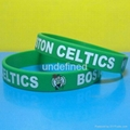 Football Team Silicone Wristbands 13