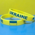 Football Team Silicone Wristbands 20