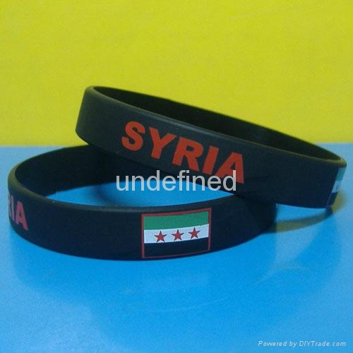 Football Team Silicone Wristbands 13