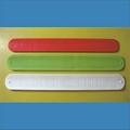 Deboosed Slap Silicone Wristband /Cramp Wristband
