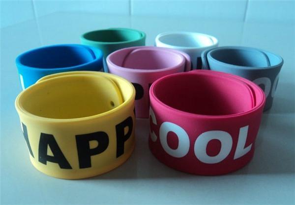 Printing Slap Silicone Wristband /Cramp Wristband 3