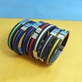 JY001 Steel Silicone Wristbands