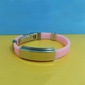 JY002 Steel Silicone Wristbands