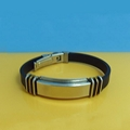 JY006 Steel Silicone Wristbands