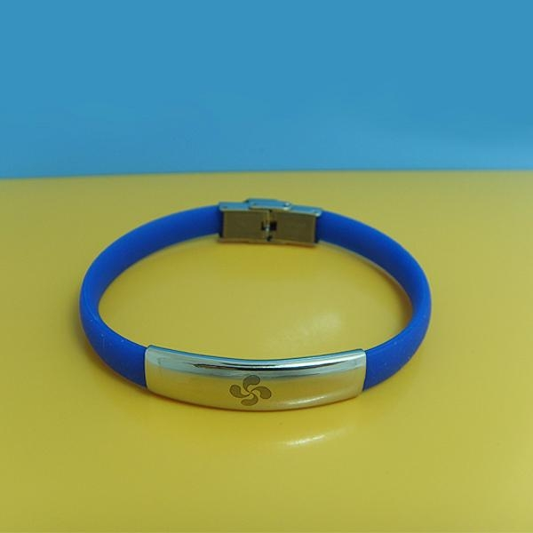 JY008 Steel Silicone Wristbands  2