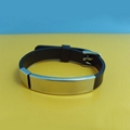 JY009 Steel Silicone Wristbands  1