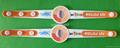 Custom UV Test  Soft  PVC Rubber Bracelets 3