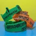 Customized Shape Silicone Wristbands  2