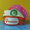 Customized Shape Silicone Wristbands  3