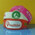 Customized Shape Silicone Wristbands