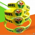 Custom shape  silicone wristbands