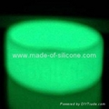 Glow in the dark Silicone Rings 2