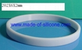 6mm blank silicone wristbands 1