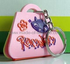 soft PVC keychain