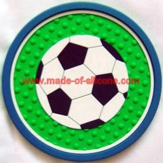 Soft PVC coaster / cup mat /soft pvc cushion/mug pad 3