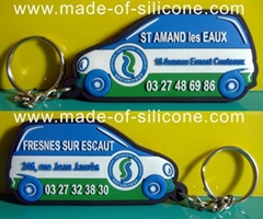 Car key chains