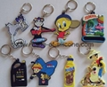 soft pvc keychain / tag / badge