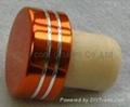 電鍍鋁帽瓶塞 TBE19-30