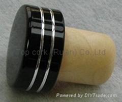電鍍鋁帽瓶塞 TBE19-30-20-14
