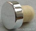 电镀铝帽瓶塞 TBE19-30