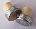 plated aluminium cap bottle stopper TBE19.7-30.8-20-10.6