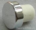 plated aluminium cap bottle stopper TBE20.3-30.8-20.6-10.6