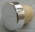 plated aluminium cap bottle stopper TBE20.8-30.1-18.4-10.5