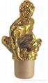 Zamak cap cork bottle stopper TBZA18-29-49-20-67