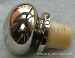 Zamak cap cork bottle stopper TBZA19.8-39-20.1-30.5