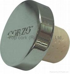 锌合金盖瓶塞 TBZA24-43.4-20.6-11.3
