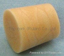 Cone-shaped cork bottle stopper TBC12.5-15.3-15 1
