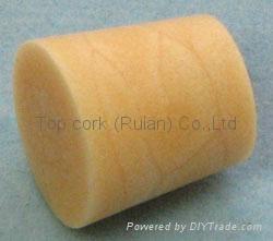 Cone-shaped cork bottle stopper TBC12.5-15.3-15