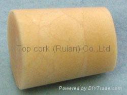 Cone-shaped cork bottle stopper TBC13.7-16.4-20 1