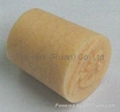 Cone-shaped cork bottle stopper TBC17.4-19.6-21