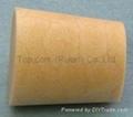 Cone-shaped cork bottle stopper TBC18-22-24