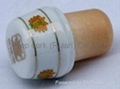 Ceramic cap cork stopper TBCE18-27.3-18.5-18.5-19 1