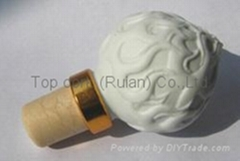 Ceramic cap cork stopper TBCE 15-19.7-38.4-16-48.2
