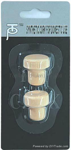 Household blister packed wine bottle stopper TBG5-170-78-32 1
