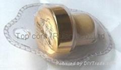 家用吸塑包装葡萄酒瓶塞 TBG6-70-54-36-gold